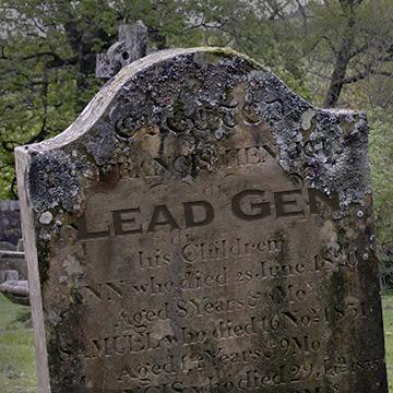 R.I.P. lead generation?